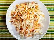 Рецепта Салата с китайско зеле, моркови и киноа